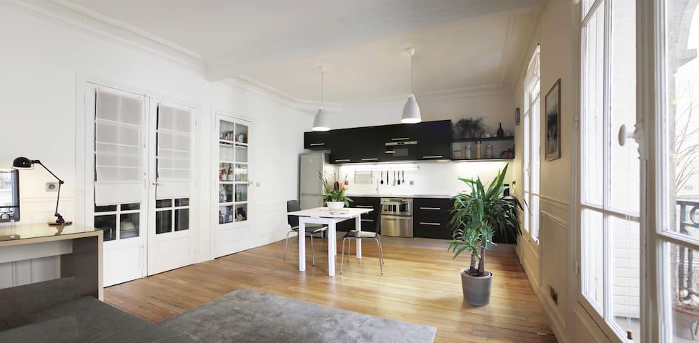 Cosy Parisian apartment - Gambetta - 47m²