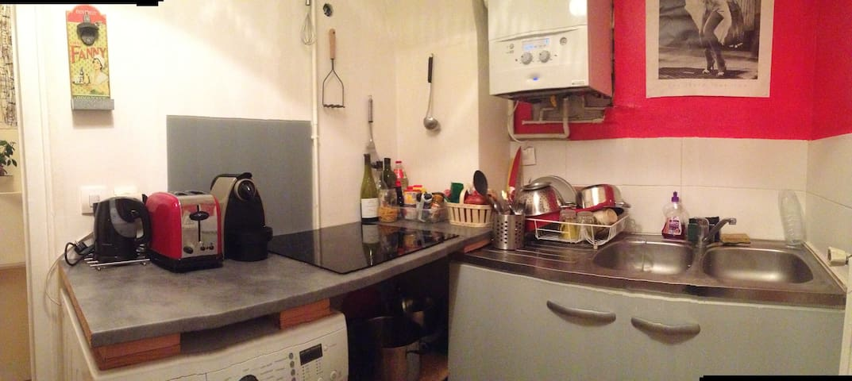 2P chaleureux et calme - Saint-Denis - Apartamento