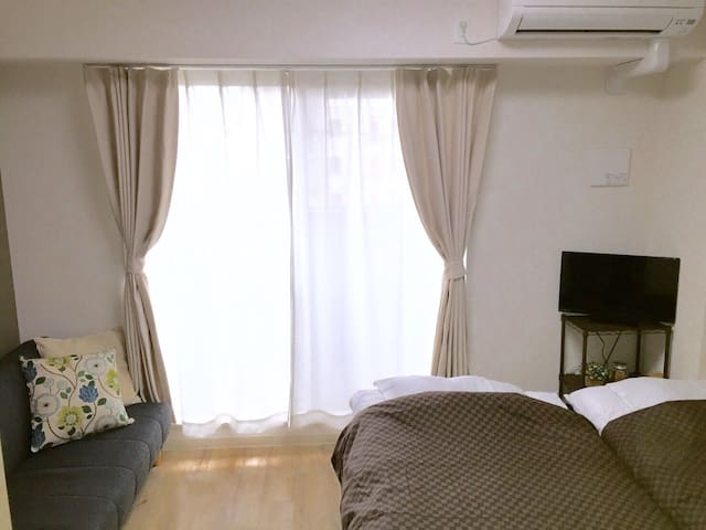 4min to Imazato sta.near Namba 4bed
