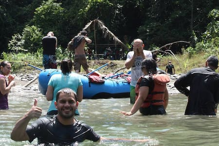 One day River Tour & 1 nigh Package - Turrialba