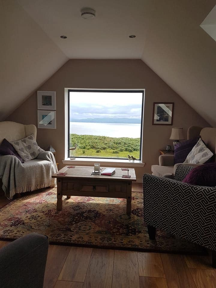 Kilt Rock Suite-private lounge-stunning scenery