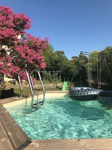Appartement ,piscine Anduze Uzes Nimes et Cevennes