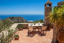 Panoramic terrace view