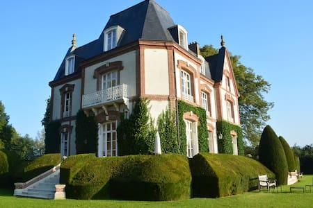 Chambre de Jaspe BNB Château - Bouelles