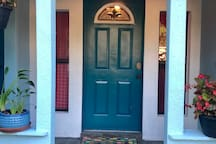 Another shot of your front door entrance