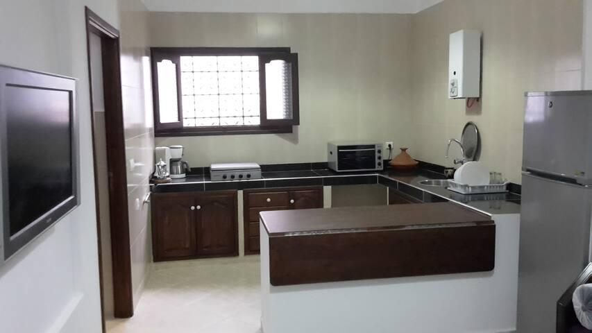 M'diq, nieuwe 2 slaapkamer appartement 50 m2