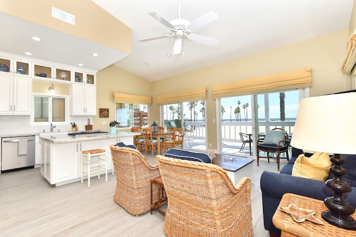 4th St. TWO STORY OCEANFRONT HOME - GARAGE & PATIO