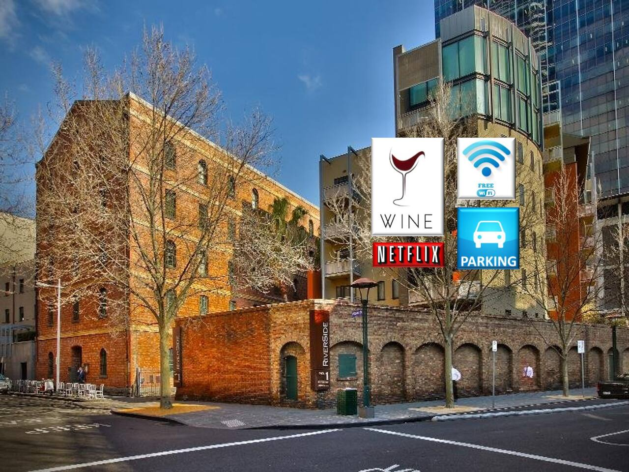 Oozing charm, history and just that wonderful touch of class. The Bond Store apartments are the ultimate place from where to base your Melbourne adventure. *Free WiFi *Secure parking *Complimentary bottle of wine  *Free Netflix