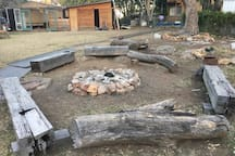 The main fire pit. Because no party in the country is complete without a a bonfire.