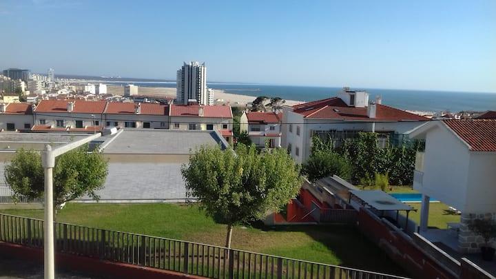 Appartement 1 étage vue sur mer