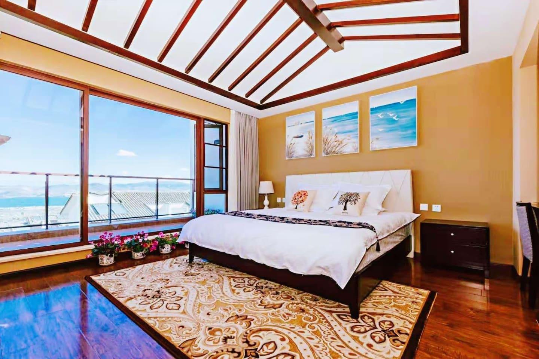 苍山洱海浪漫星空大床房
