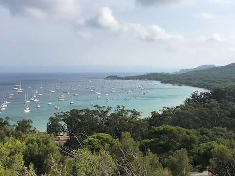PORQUEROLLES appartement grand confort ++++