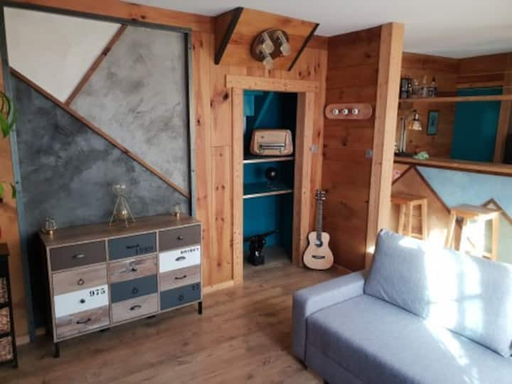 Arreau appartement confort 7 personnes,wifi