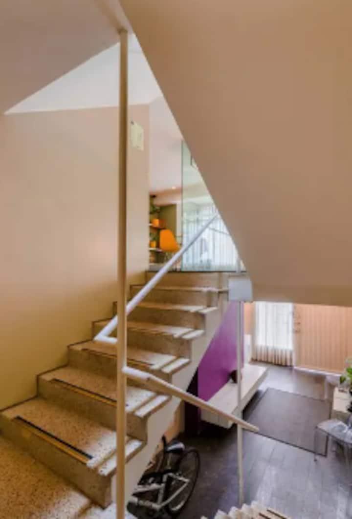 Luxury Loft with Garden