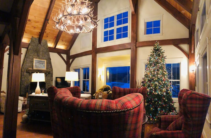 Luxury Post and Beam at Haystack Mountain