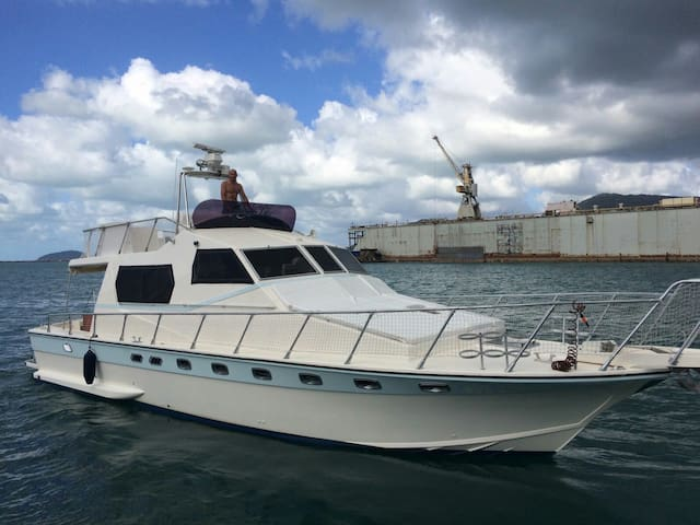 b&b m/yacht  Anna blue 15 mt