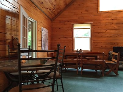 Downeast Maine log cabin - Mariaville
