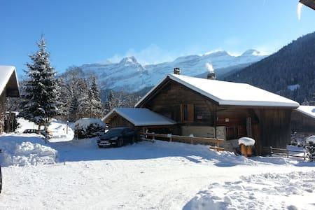 Chalet la Croisée - Ormont-Dessus - Chatka w górach