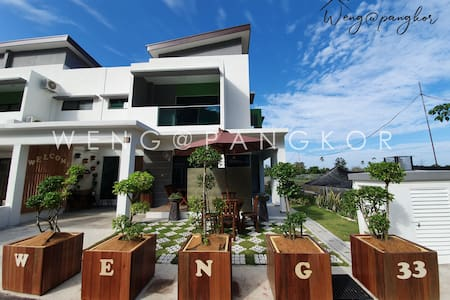 CORNER Family House Pangkor Island 5min to beach