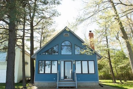 Beautiful Bayfront Home w/Private Dock - North Beach - Haus