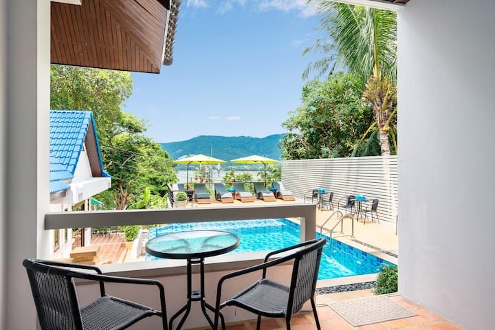 Pool Side 2 Bedroom Apartment in Center Chaweng