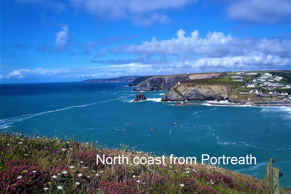 View of north coast from Portreath