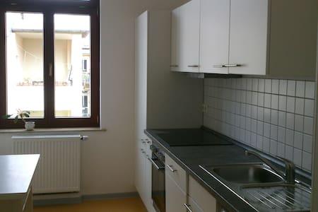 ruhige und sonnige 1-Zimmerwohnung mit Südbalkon - Apartment