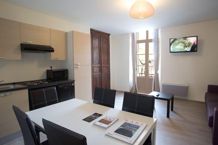Appartement 2 pièces centre ville - Nuits-Saint-Georges - Pis
