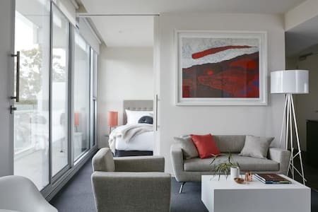 Private Bedroom in Art Series Hotel - Walkerville - Apartment