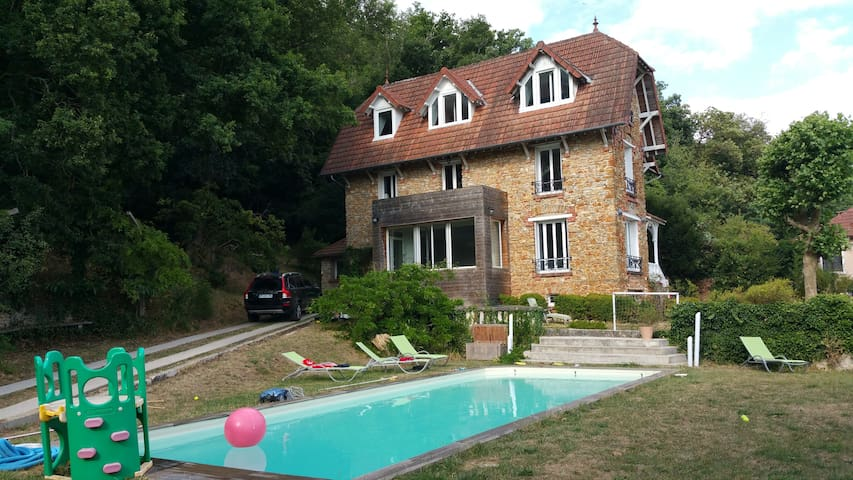 Traditional French house with pool - Palaiseau