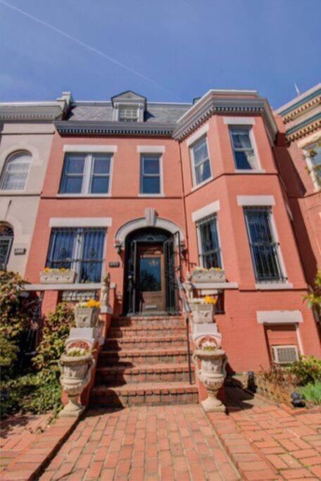 Historic home on lovely street