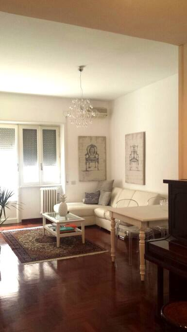 Beautifully furnished living area.