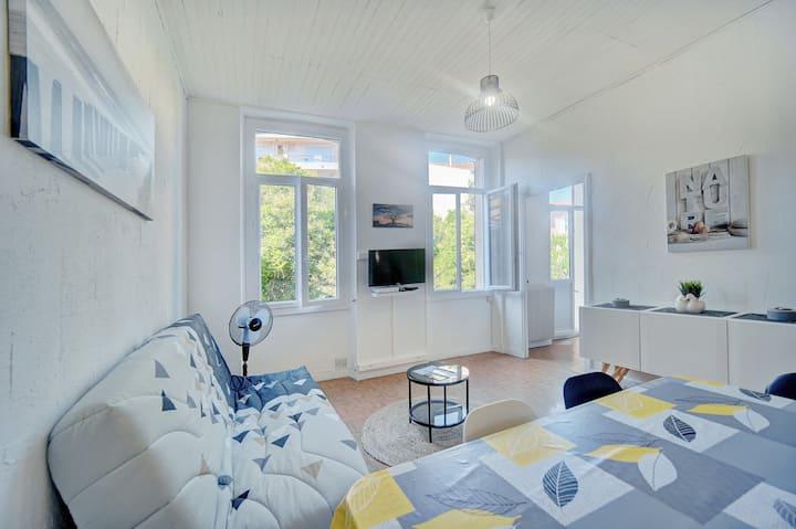 IMMOGROOM - Pleasant apartment 3min from beaches - CONGRESS/BEACHES
