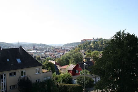 Dreamview - Blick auf Schloss Hellenstein - Heidenheim an der Brenz - Lägenhet