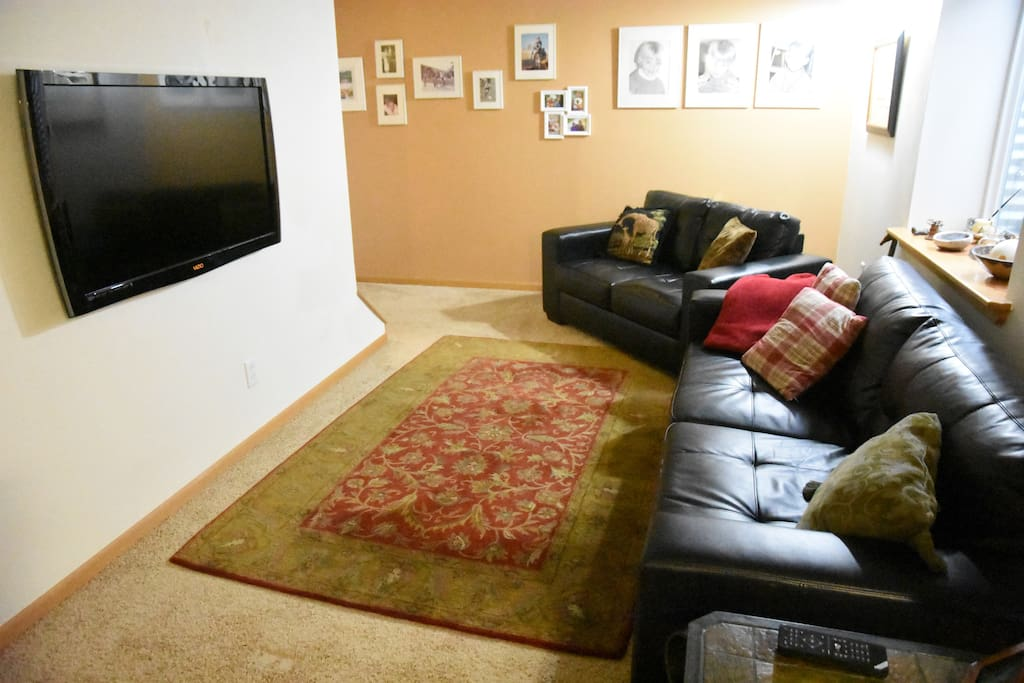 TV sitting area
