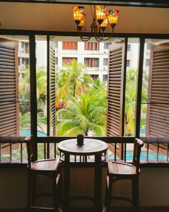 Resort like living..