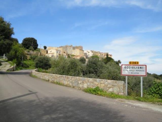charmant 2 pièces entre mer et montagne - Santa-Reparata-di-Balagna - Casa