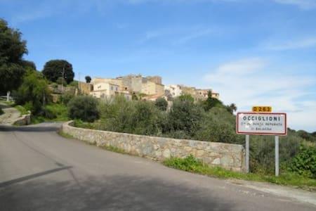 charmant 2 pièces entre mer et montagne - Santa-Reparata-di-Balagna