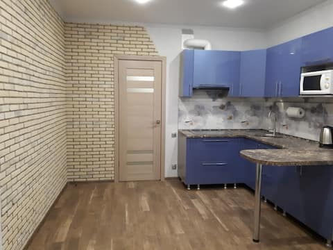 Designer apartment in a new house
