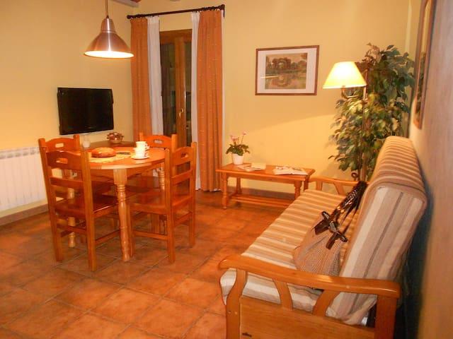 CASA SANTORROMAN - APARTAMENTO 4 PLAZAS - Campo - Apartament