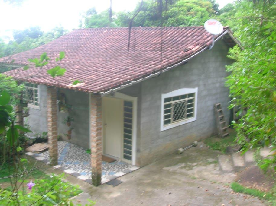 Casa vista de frente