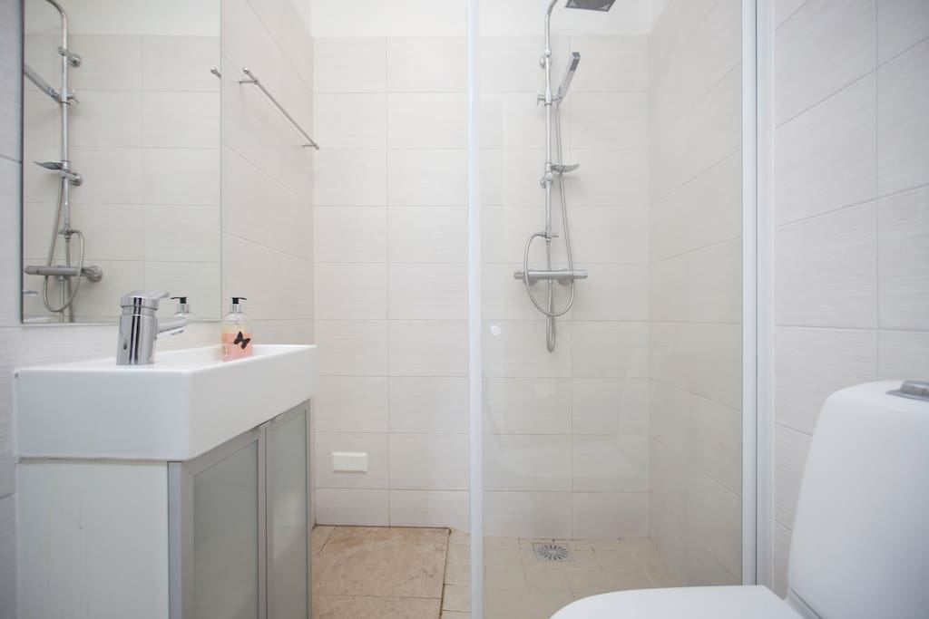 You will have private bathroom in your studio