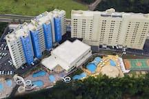 Flat Studio Golden Dolphin Resort