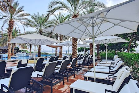 5-STAR Beach Resort in Spacious 4BR at Palm - Dubai - Pis
