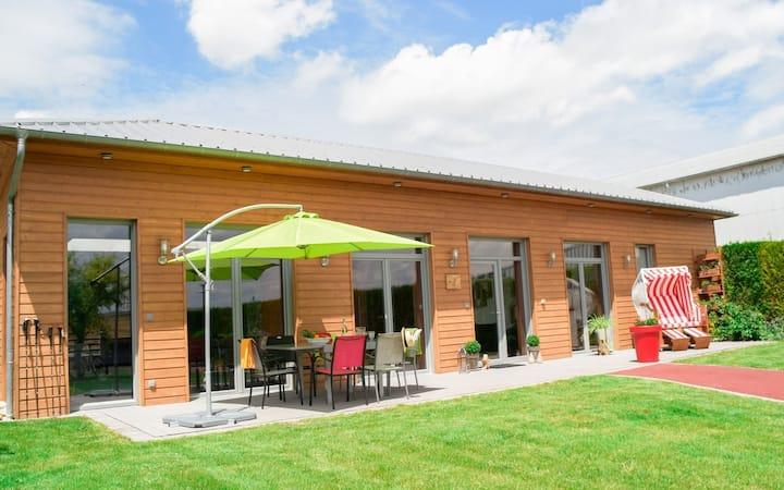 Gîte de luxe avec piscine intérieur proche Reims