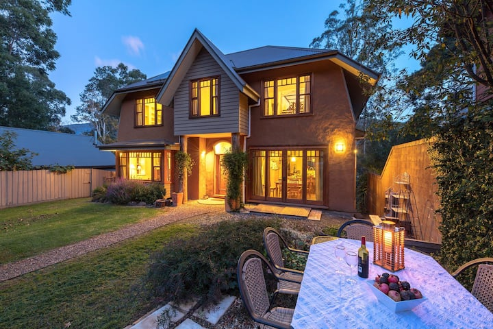 Beautiful strawbale home in the Yarra Valley