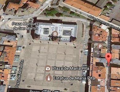 Piso En pleno centro de La Coruña - A Coruña - Apartament