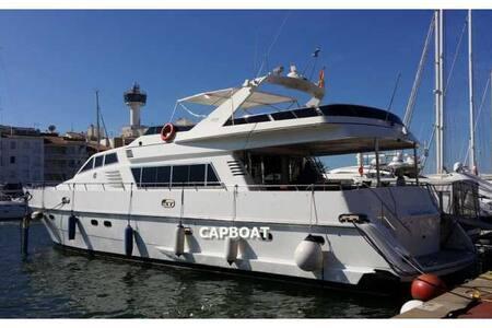 chambre d'hotes sur/l eau yacht - Boat