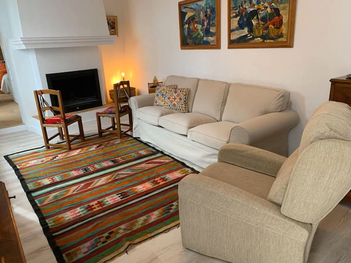 "Holiday Home ""Astarte House 6pax down"" with Garden, Terrace & WiFi; Street Parking Available"