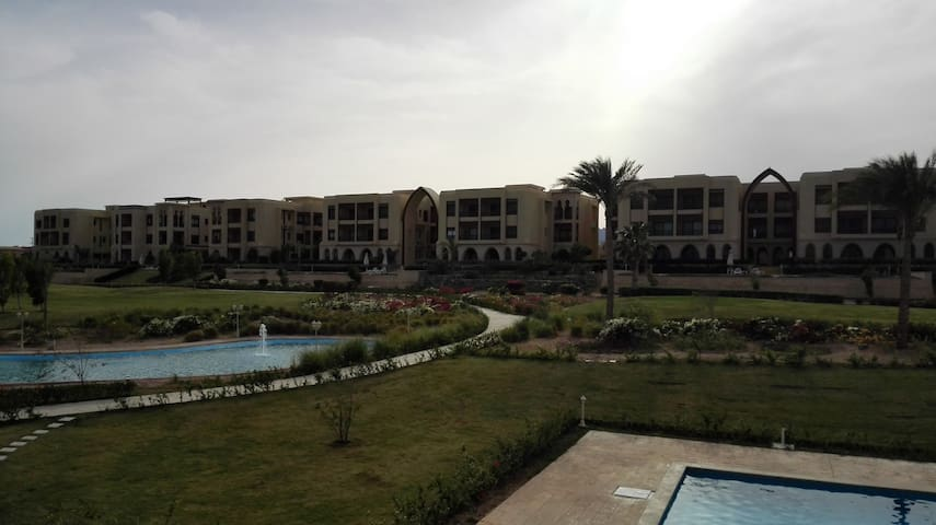 Amazing Golf view, 2 bed room apartment - Sharm El-Sheikh - Apartment